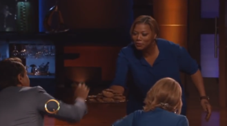 Queen Latifah on Shark Tank!