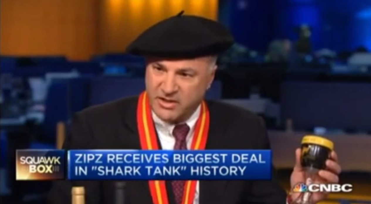 Zipz Wine on CNBC!